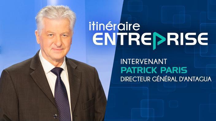 Interview Patrick Paris pour Itinéraire entreprise